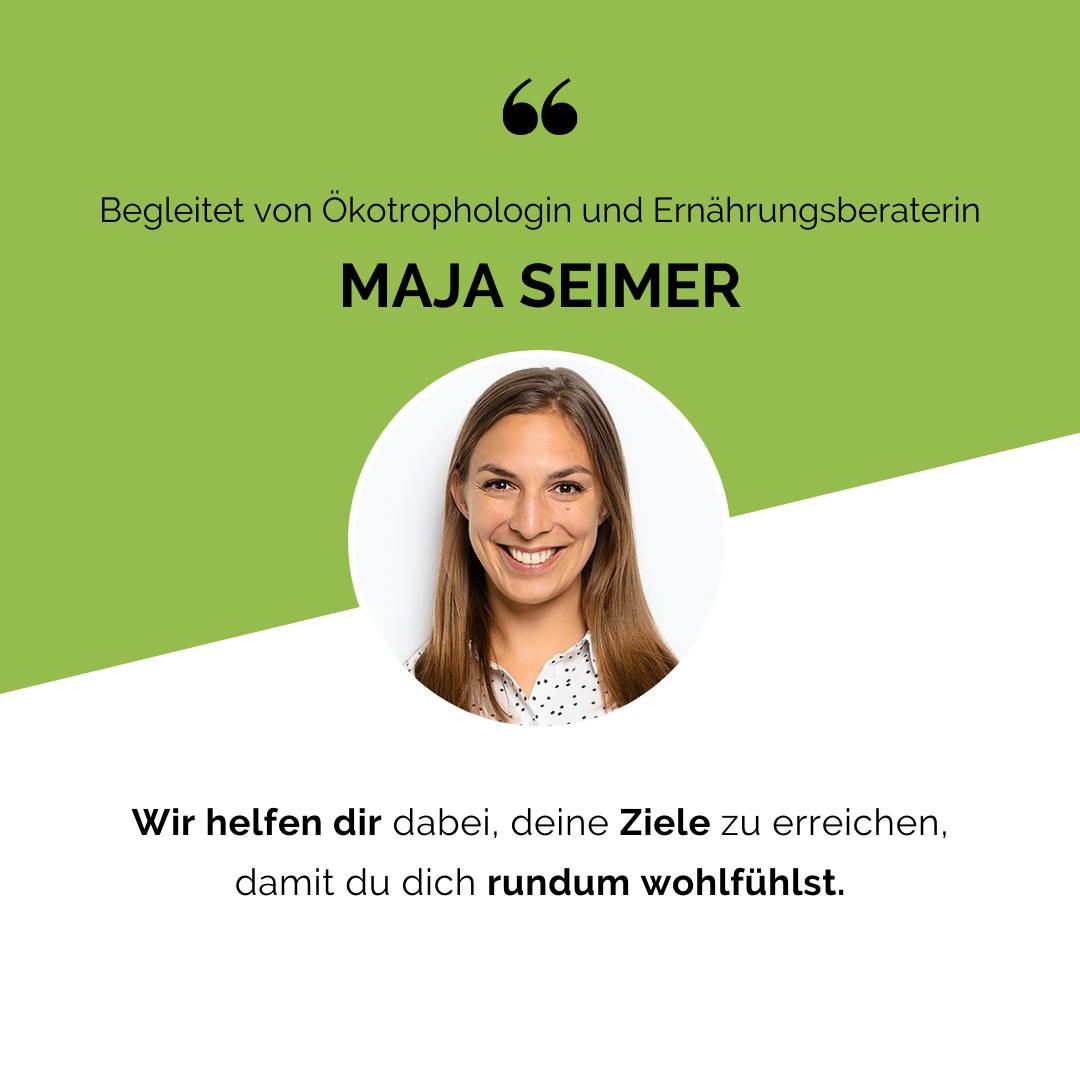 Eat Smarter Abnehmkurs - Maja Seimer